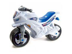 Мотоцикл 2-х колісний (білий), арт. 501Бел, Орион