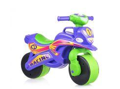 """Мотобайк """"Спорт"""" музич. (фіолетово-зелений), арт. 0139/6, Фламинго (Долони)"""
