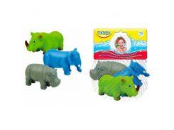 Животные-пищалки для ванной Африка (3 шт.), BeBeLino