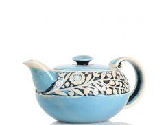 Чайник 1,0 л Manna Укр.стиль голубой