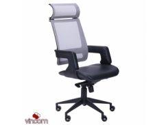 Кресло AMF Axon каркас черный, сетка серая
