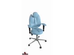 Кресло Kulik System Trio экокожа, светло-синий (ID 1404) Кресло Kulik System Trio Azure