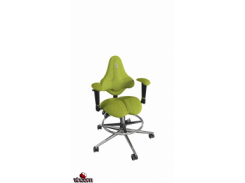 Кресло Kulik System Kids ring base, азур, оливковый (ID 1505) Кресло Kulik System KIDS Pink