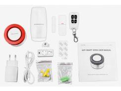 Комплект сигнализации PoliceCam WIFI Smart Siren