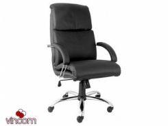 Кресло Новый Стиль NADIR steel chrome comfort (Экокожа)
