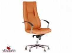 Кресло Новый Стиль KING steel chrome (Экокожа)