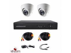 Комплект AHD видеонаблюдения CoVi Security AHD-2D KIT