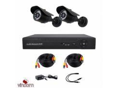 Комплект AHD видеонаблюдения CoVi Security AHD-2W KIT