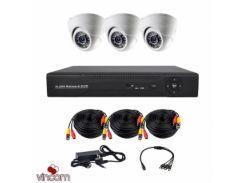 Комплект AHD видеонаблюдения CoVi Security AHD-3D KIT