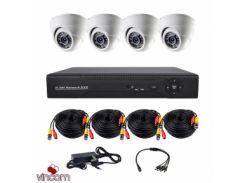 Комплект AHD видеонаблюдения CoVi Security AHD-4D KIT