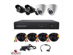 Комплект AHD видеонаблюдения CoVi Security AHD-22WD KIT