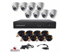 Комплект AHD видеонаблюдения CoVi Security AHD-8D KIT