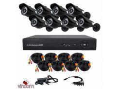 Комплект AHD видеонаблюдения CoVi Security AHD-8W KIT