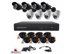 Комплект AHD видеонаблюдения CoVi Security AHD-44WD KIT