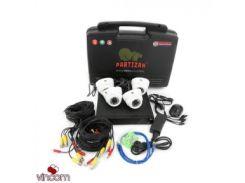 Комплект видеонаблюдения Partizan Indoor Kit 2MP 4xAHD
