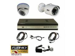 Комплект видеонаблюдения Oltec AHD-DUO-302/920