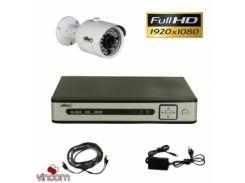 Комплект FullHD видеонаблюдения Oltec AHD-ONE-FullHD