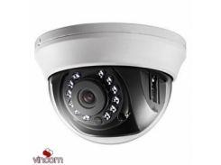 Видеокамера AHD купольная Hikvision DS-2CE56D1T-IRMM (2.8 мм)
