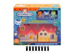 """Набор игрушек """"Octonauts"""" с домиком в кор. 35*30*8 см. /36/"""