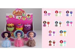 """Кукла""""Gelato Surprise""""6 видов,с расческой,превращается в мороженое,в диспл.боксе 16*9*9 /96-2/"""