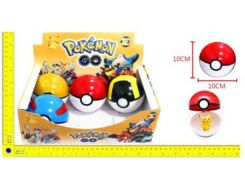 "Покебол с фигуркой BT-PG-0003 ""Pokemon GO"" 10см 6шт.в кор.ш.к./288/"