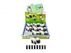 Заводная овечка 9шт. на планшете 25,2*24,6*6,3 см. /60/540/