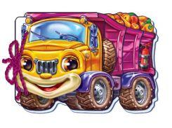 М які машинки : Вантажівка (у) 12стор., м'яка обкл. 21.5x45.5 /20/