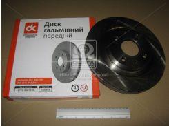 Диск тормозной ВАЗ 2112 передний R14 (ДК)
