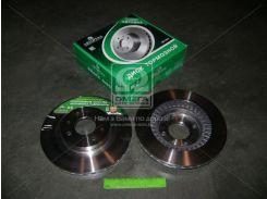 Передний торм. диск ВАЗ 2110-2112 R-14 (перфорация+18 отвер) Автореал