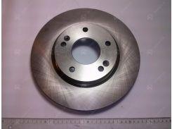 Диск тормозной передний SANTA FE с 2000 г.в. (VALEO PHC)
