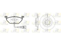 Комплект Octavia:диски+колодки ROADHOUSE RH 8633.05, Альтера, Леон, Толедо, Октавия, Гольф, Джетта
