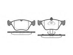 Колодки тормозные дисковые передние, комплект: Calibra, Omega, Vectra (REMSA)