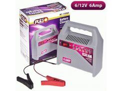 Зарядное устр-во PULSO BC-15860 6-12V/6A/15-80AHR/светодиодн.индик.