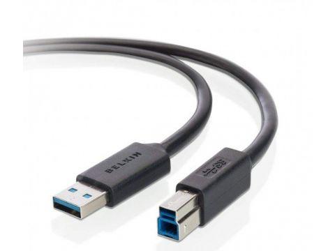 Кабель BELKIN USB 3.0 (AM/BM) SuperSpeed DSTP, 1.8M,Pro Series (F3U159B06) Киев