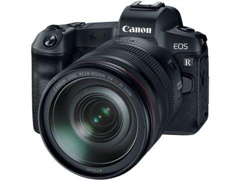 Фотоаппарат CANON EOS R + RF 24-105 f/4L IS USM + Mount Adapter EF-EOS R (3075C060) Киев
