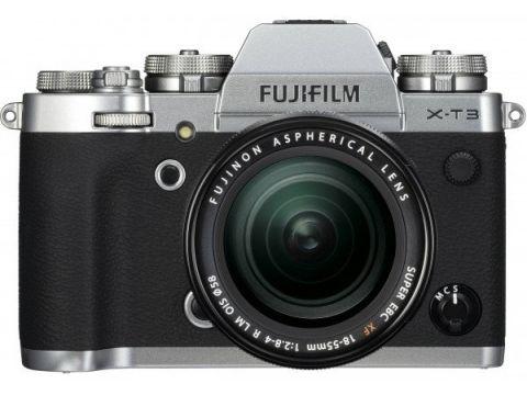 Фотоаппарат FUJIFILM X-T3 + XF 18-55mm F2.8-4R Silver (16589254) Киев