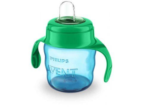 Чашка-непроливайка Avent с мягким носиком голубая 200 мл 6+ 1 шт. (SCF551/05) Киев