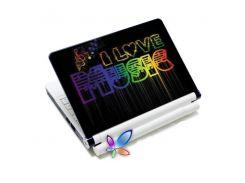 наклейка на ноутбук easy link h15181 кохаю музику