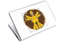 наклейка на ноутбук easy link h6622 гомер да вінчі