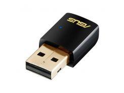 wifi-адаптер asus usb-ac51 802.11ac, 600mbps, dual band, usb 2.0