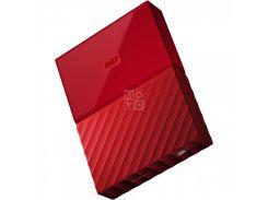 жесткий диск wd usb3.0 4tb my passport red wdbyft0040brd-wesn