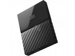 жесткий диск wd usb3.0 1tb my passport black wdbynn0010bbk-wesn