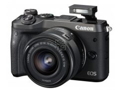 Фотоаппарат CANON EOS M6 + 15-45 IS STM Black (1724C043)