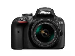 Фотоаппарат NIKON D3400 AF-P 18-55 VR + AF-P 70-300 VR (VBA490K005)