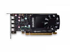 Видеокарта PNY NVIDIA Quadro P600 2GB GDDR5 (VCQP600DVI-PB)