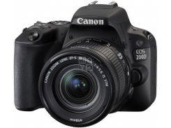 Фотоаппарат CANON EOS 200D 18-55 IS STM Black (8469B042)