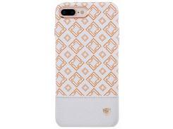 Чехол для смартф. NILLKIN iPhone 7 Plus (5`5) - Oger Series (Белый)