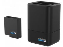 Зарядное устройство GoPro Dual Battery Charger + Battery для GoPro HERO5 Black (AADBD-001-RU)