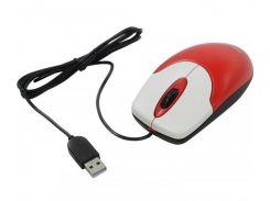 Мышь Genius NS-120 USB Red