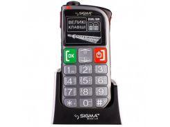 Мобильный телефон Sigma Comfort 50 Light DS Grey